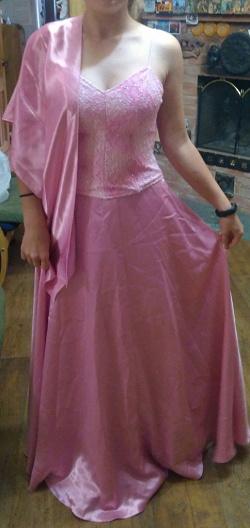 Отдается в дар «платье выпускное длинное»