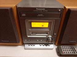 Отдается в дар «Музыкальный центр Panasonic»
