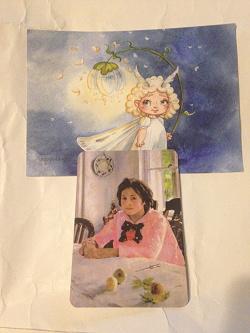 Отдается в дар «Календарики с картинами»