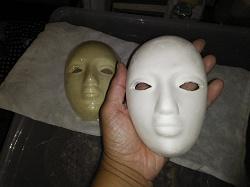 Отдается в дар «Гипсовые маски для росписи»