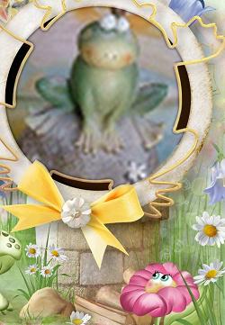 Отдается в дар «Фигурка лягушки»