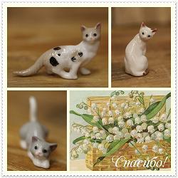 Отдается в дар «Фигурки котята»