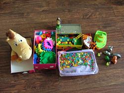 Отдается в дар «Пакет детских игрушек»