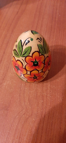 Отдается в дар «Яйцо деревянное»