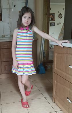Отдается в дар «Летнее платье для девочки.»