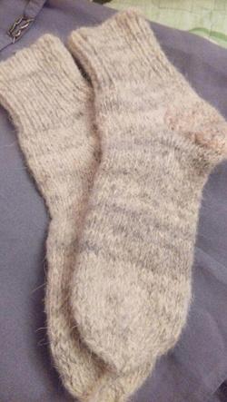 Отдается в дар «Носки шерстяные»