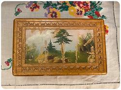 Отдается в дар «Деревянная шкатулка 56 года»