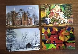 Отдается в дар «Новогодние календарики»