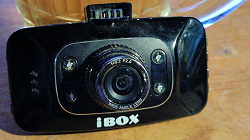 Отдается в дар «Видеорегистратор Ibox»