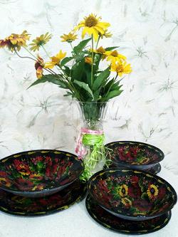 Отдается в дар «Набор тарелок»