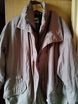 Отдается в дар «Куртка большого размера»