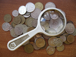 Отдается в дар «Монеты РФ 50 копеек (ходячка)»