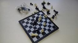 Отдается в дар «Походные магнитные шахматы»