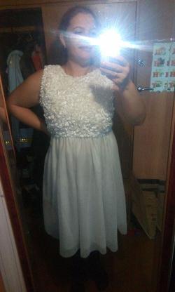 Отдается в дар «Платье белое 48 размера»