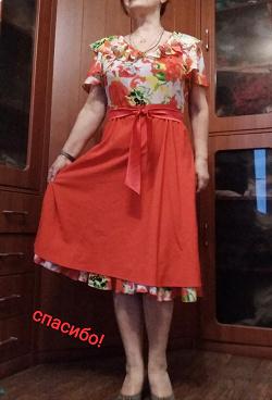 Отдается в дар «платье 50-52 р-р»