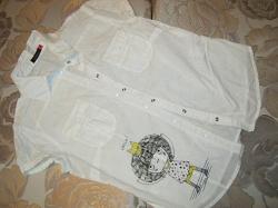 Отдается в дар «блузка белая — размер 42-44»