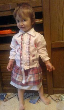 Отдается в дар «Классный детский костюмчик»