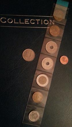 Отдается в дар «Монеты Египта»