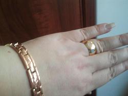 Отдается в дар «Кольцо позолоченное с серебряными ромбами 18,5»