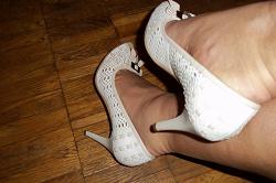 Отдается в дар «туфли на шпильке р38»