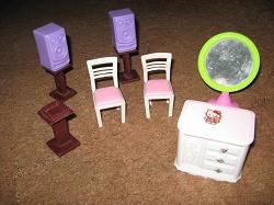 Отдается в дар «Мебель для кукольного дома.»