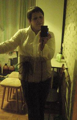 Отдается в дар «Женские белые офисные рубашки 54, 52 р-р»