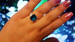 Отдается в дар «Новое серебряное кольцо 18 размер»