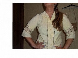 Отдается в дар «Льняная блузка»