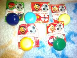 Отдается в дар «Футбольные мячи (Пятёрочка)»