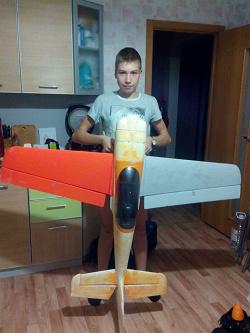 Отдается в дар «HobbyKing Sbach 342 EPO 1400mm ARF»