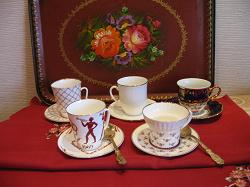 Отдается в дар «Коллекционная кофейная пара, 1985г.»