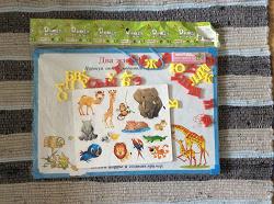 Отдается в дар «Развивающая игрушка: магнитный алфавит/школьная доска»