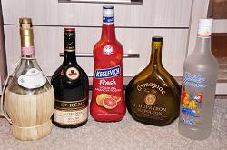 Отдается в дар «Бутылки в коллекцию.»