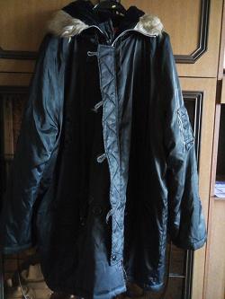 Отдается в дар «Куртка мужская 52 — 56 р.»