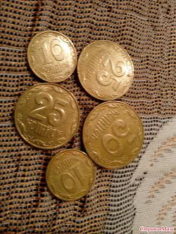 Отдается в дар «Монеты и боны Украины»