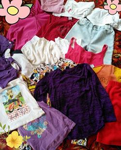 Отдается в дар «Летние вещи на девочку 10-12 лет»