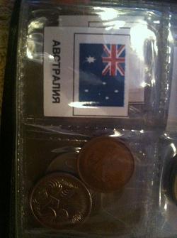 Отдается в дар «Монеты Австралии.»