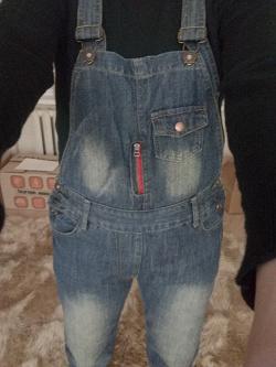 Отдается в дар «Комбез джинсовый 46-48»