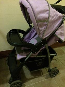 Отдается в дар «Прогулочная коляска Lider kids»
