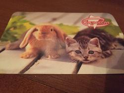 Отдается в дар «Календарик в коллекцию)»