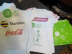 Отдается в дар «Светлые футболки, кепки, банданы»