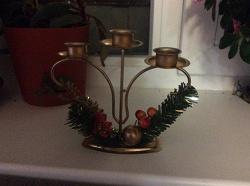 Отдается в дар «Подсвечник новогодний»