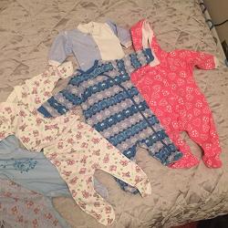Отдается в дар «Одежда для малышей до года»