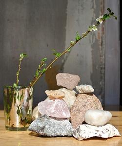 Отдается в дар «Каменная( подозреваю что гранит) основа для бисерных деревьев. И не только деревьев)»