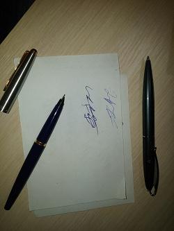 Отдается в дар «Ручки parker и regal»