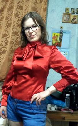 Отдается в дар «Блузка нарядная»