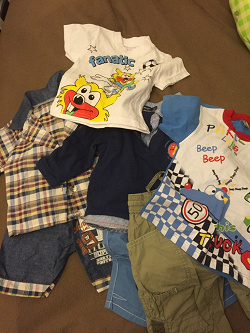 Отдается в дар «Одежда для мальчика»