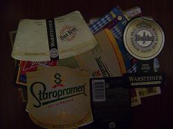 Отдается в дар «этикетки от пива»