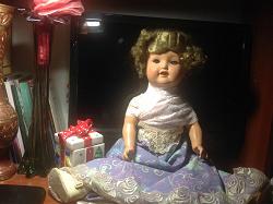 Отдается в дар «довоенная кукла немецкая. Коллекционеру.»