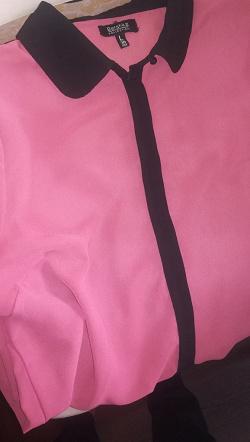 Отдается в дар «Рубашка Bershka, L»